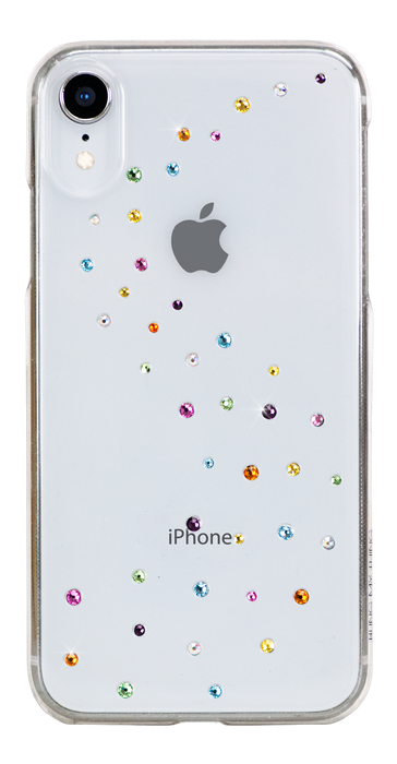 MILKY WAY ᛫ CLEAR ᛫ clip-on hard cover with Swarovski Crystals for iPhone XR - Bling My Thing - Swarovski Protective iPhone Case