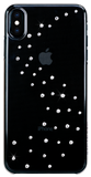 For iPhone XS Max: MILKY WAY ᛫ CLEAR ᛫ a hard cover with Swarovski Crystals - Bling My Thing - Swarovski Protective iPhone Case
