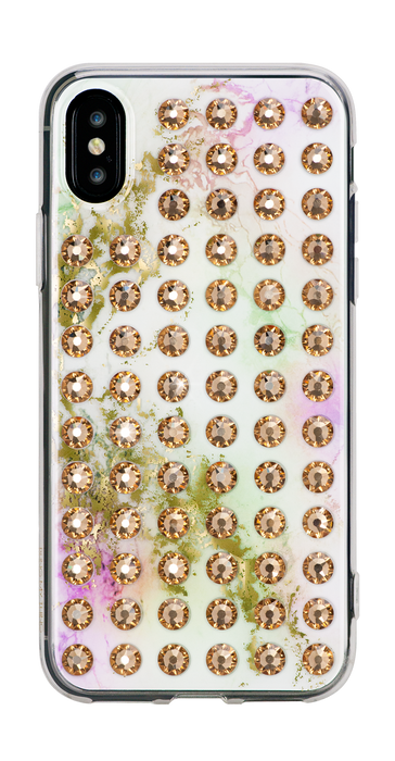 EXTRAVAGANZA ᛫ UNICORN ᛫ hard clip on case with Swarovski Crystals for iPhone X & XS - Bling My Thing - Swarovski Protective iPhone Case