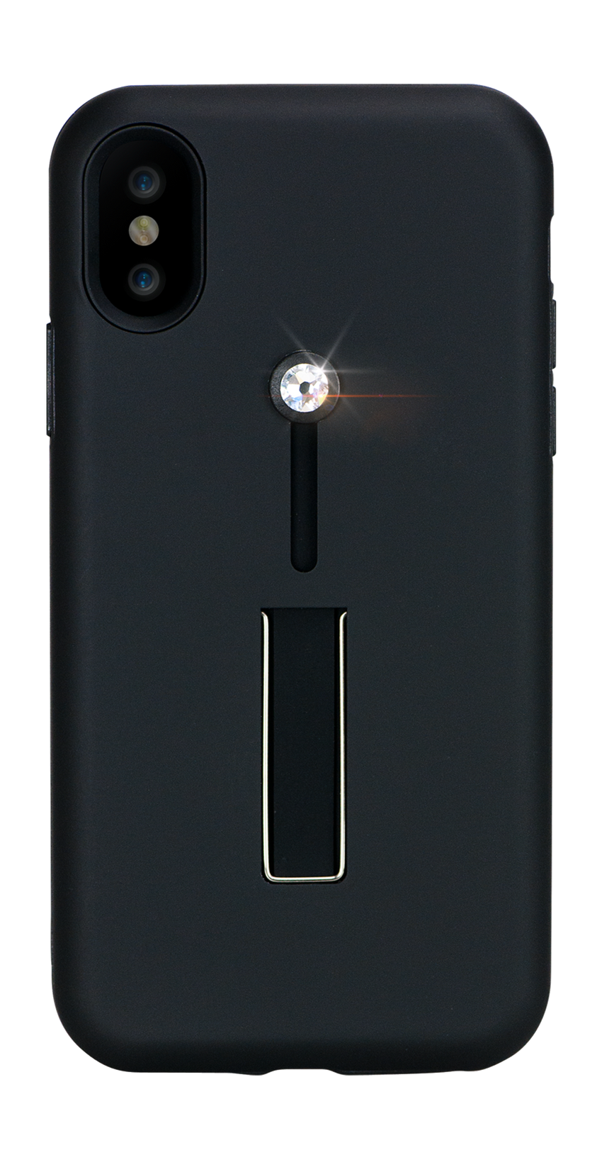 SelfieLOOP* Collection -BLACK Swarovski Edition- for iPhone X & XS - Bling My Thing - Swarovski Protective iPhone Case