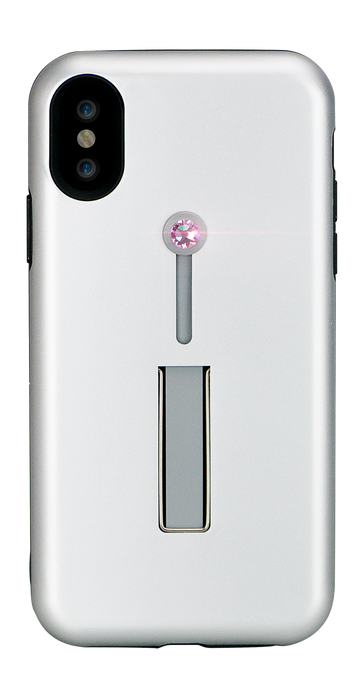SelfieLOOP* Collection -SILVER Swarovski Edition - for iPhone X & XS - Bling My Thing