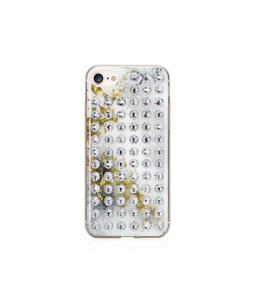 Ultimate Sparkle! ALABASTER CRYSTAL BRILLIANCE Extravaganza crystal case for iPhone 8 - Bling My Thing