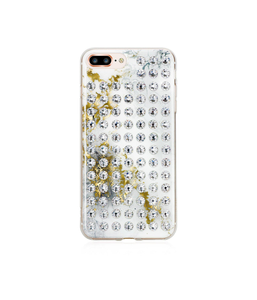 Ultimate Sparkle! ALABASTER CRYSTAL BRILLIANCE Extravaganza crystal case for iPhone 8 Plus - Bling My Thing