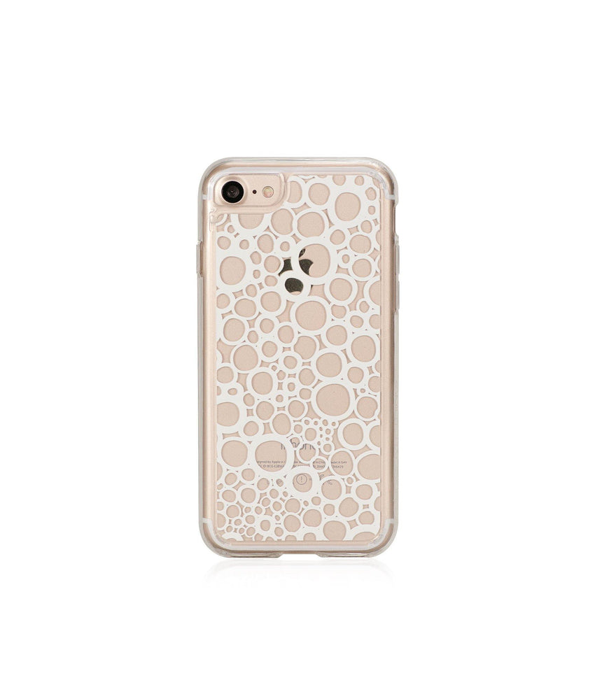 BUBBLES, Hybrid Case with Bumper, Expression, iPhone 8 - Bling My Thing