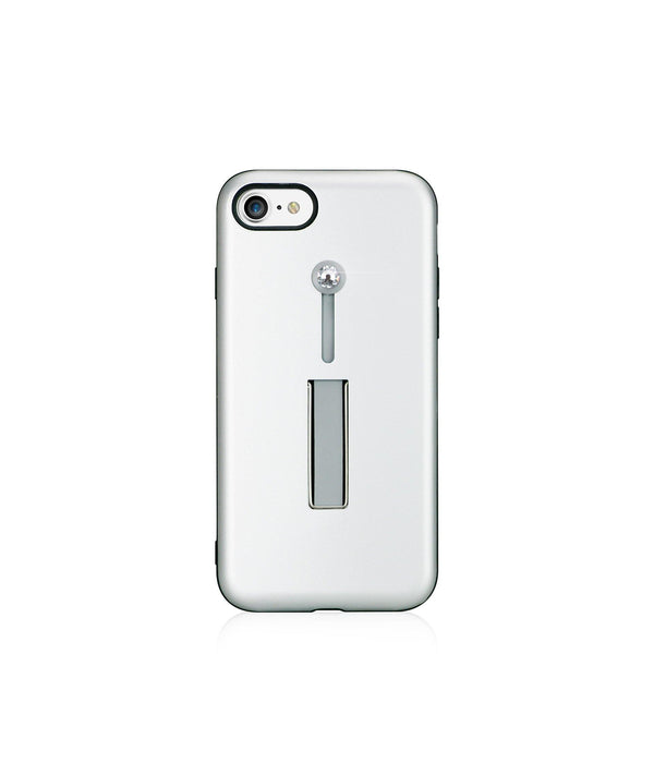 SelfieLOOP* Collection - SILVER/CRYSTAL - for iPhone 8 - Bling My Thing