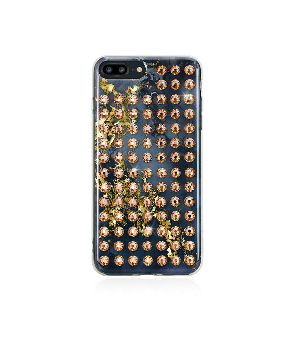 Ultimate Sparkle! OYNX GOLD BRILLIANCE Extravaganza golde case for iPhone 8 Plus - Bling My Thing
