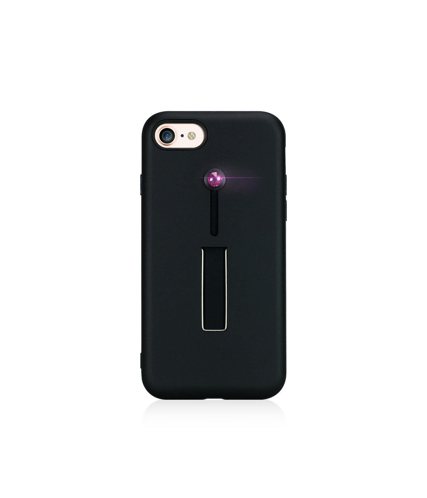 SelfieLOOP* Collection -BLACK/PINK - for iPhone 8 - Bling My Thing