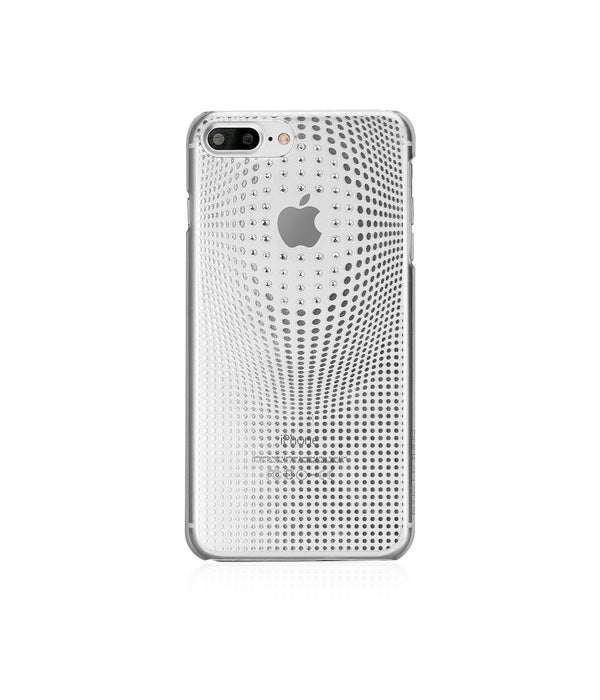 WARP DELUXE COLLECTION - SILVER BRILLIANCE for iPhone 7 Plus case - Bling My Thing