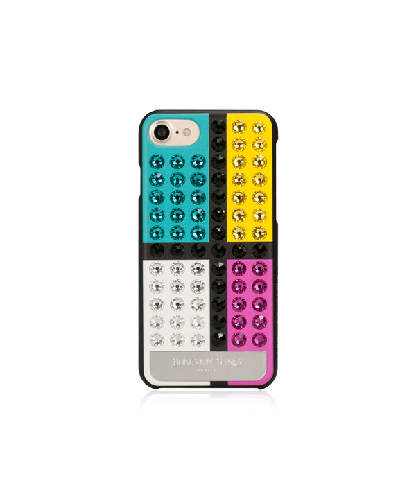 Ultimate Sparkle! De Stijl case for iPhone 7 - Bling My Thing
