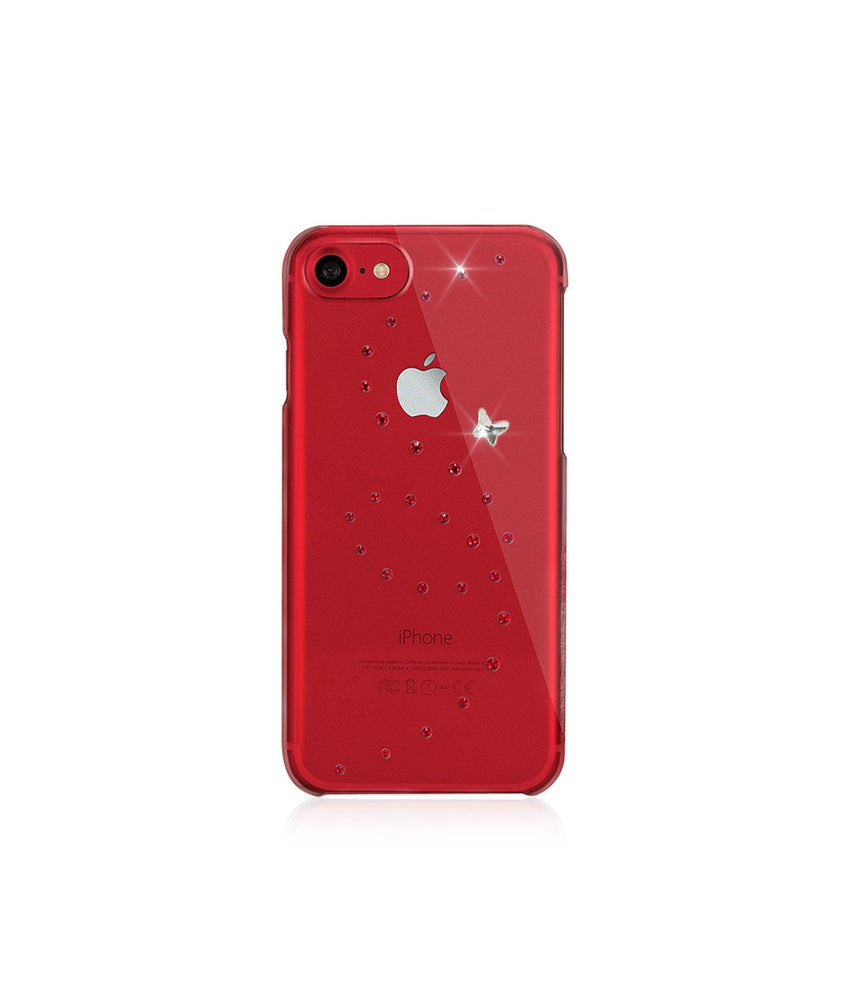 Papillon Red brilliance, iPhone 7 Red - Bling My Thing
