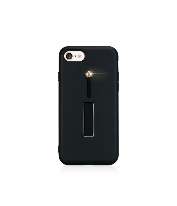 SelfieLOOP* Collection -BLACK/GOLD - for iPhone 8 - Bling My Thing