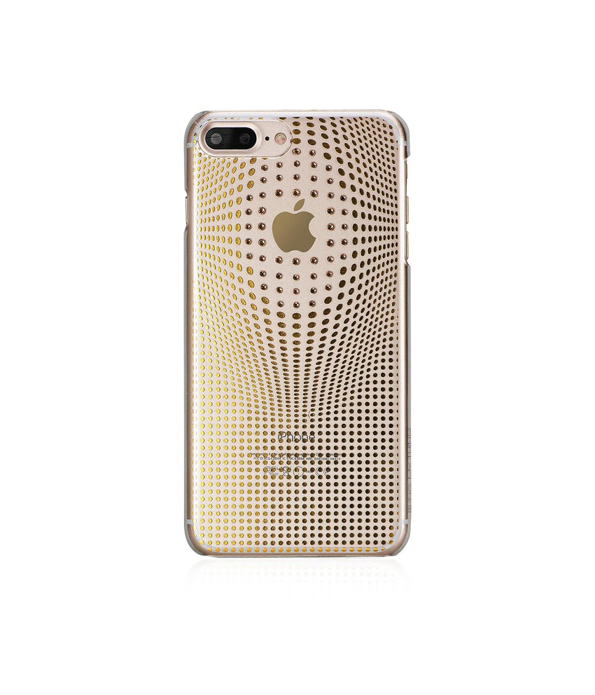 WARP DELUXE COLLECTION - GOLD BRILLIANCE for iPhone 7 Plus case - Bling My Thing