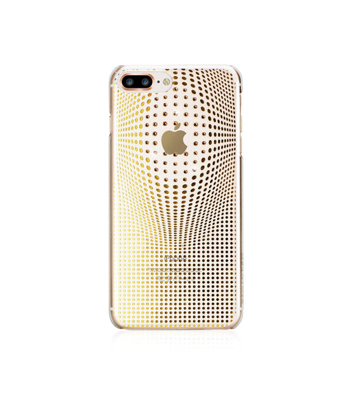 WARP COLLECTION - GOLD for iPhone 8 Plus case