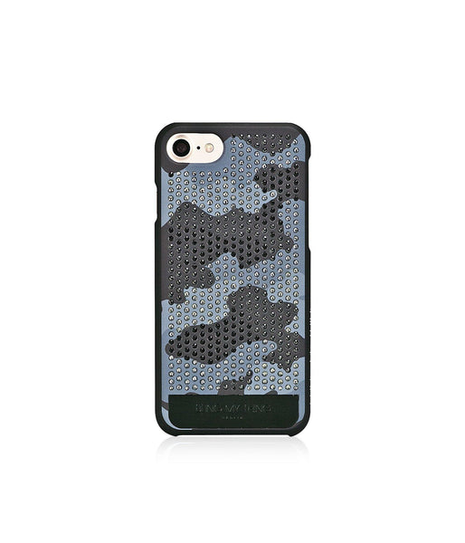 CAMOUFLAGE MONOCHROME, GRAYSCALE CAMO, VOGUE, IPHONE 7 CASE
