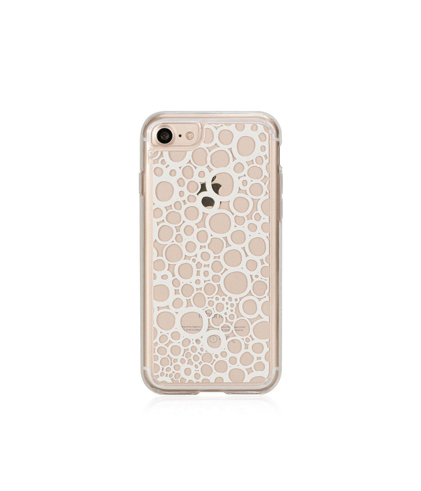 BUBBLES, Hybrid Case with Bumper, Expression, iPhone 7 - Bling My Thing