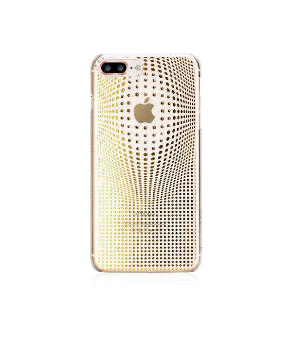 WARP DELUXE COLLECTION - GOLD BRILLIANCE for iPhone 8 Plus case - Bling My Thing - Swarovski Protective iPhone Case