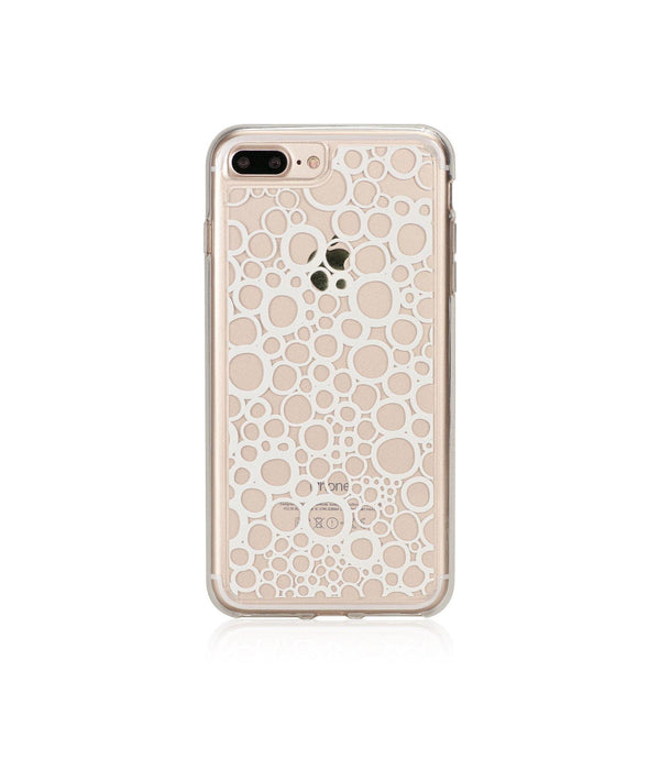 BUBBLES, Hybrid Case with Bumper, Expression, iPhone 7 Plus - Bling My Thing