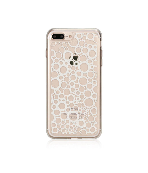 BUBBLES, Hybrid Case with Bumper, Expression, iPhone 7 Plus
