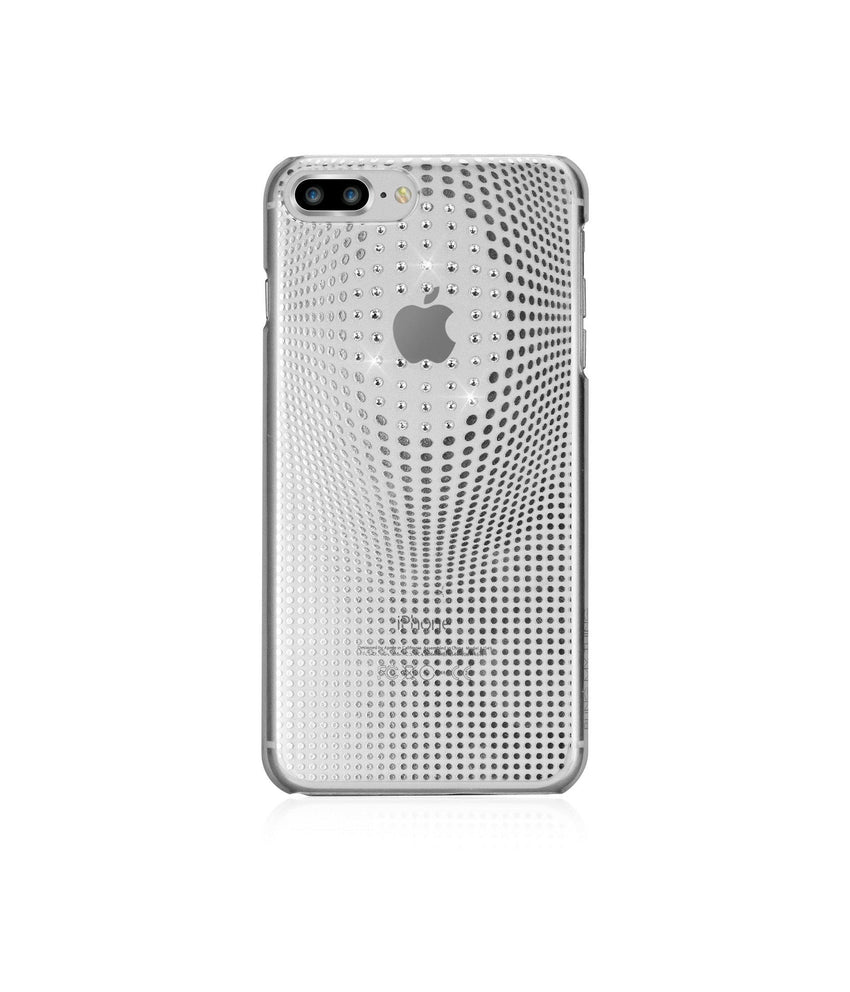 WARP COLLECTION - SILVER for iPhone 8 Plus case - Bling My Thing