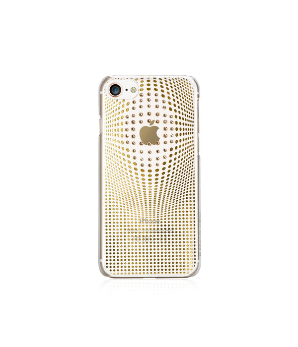 WARP DELUXE COLLECTION - GOLD BRILLIANCE for iPhone 8 case - Bling My Thing