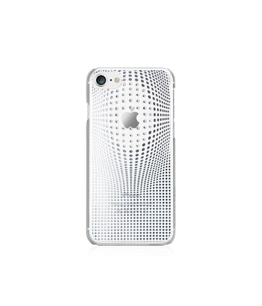WARP DELUXE COLLECTION - SILVER BRILLIANCE for iPhone 8 case - Bling My Thing - Swarovski Protective iPhone Case
