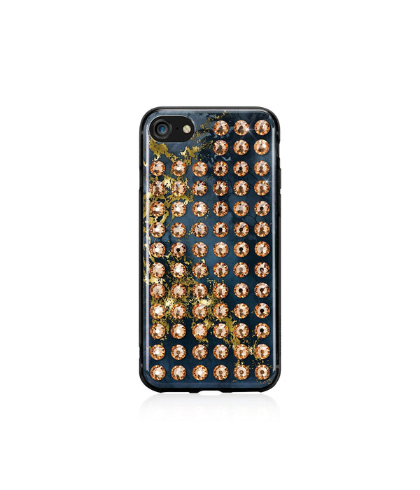 Ultimate Sparkle! OYNX GOLD BRILLIANCE Extravaganza gold case for iPhone 8 - Bling My Thing