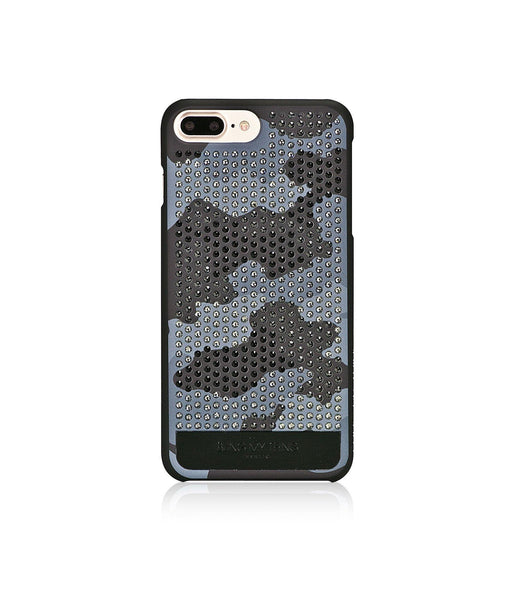 CAMOUFLAGE MONOCHROME, GRAYSCALE CAMO, VOGUE, IPHONE 7 PLUS CASE