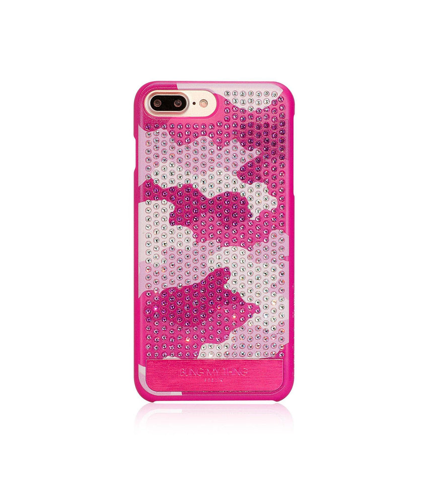 CAMOUFLAGE PINK, ROSE CAMO, VOGUE, IPHONE 7 PLUS CASE - Bling My Thing