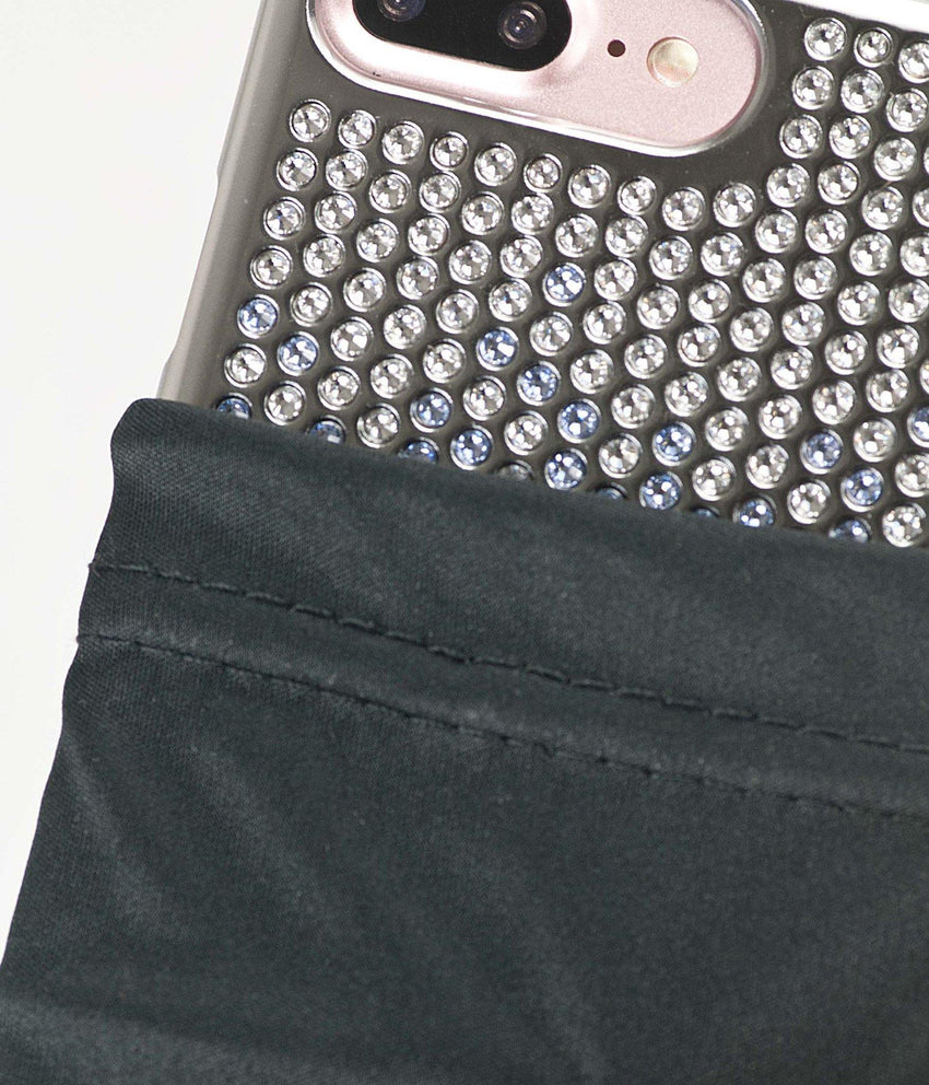 Brilliant Onyx, Black to Silver Gradation, Vogue, iPhone 7 - Bling My Thing