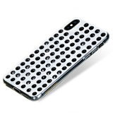 EXTRAVAGANZA ᛫ PEARL WHITE ᛫ a cover with Swarovski Crystals for iPhone XS Max - Bling My Thing