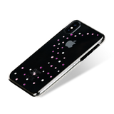 MILKY WAY ᛫ CLEAR ᛫ clip-on hard cover with Swarovski Crystals for iPhone X & XS - Bling My Thing - Swarovski Protective iPhone Case