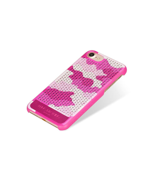 CAMOUFLAGE PINK, ROSE CAMO, VOGUE, IPHONE 7 CASE