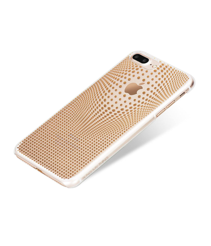 WARP COLLECTION - GOLD for iPhone 7 Plus case - Bling My Thing