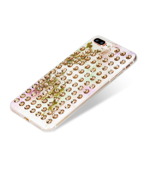 Ultimate Sparkle! UNICORN GOLD BRILLIANCE Extravaganza gold case for iPhone 8 Plus