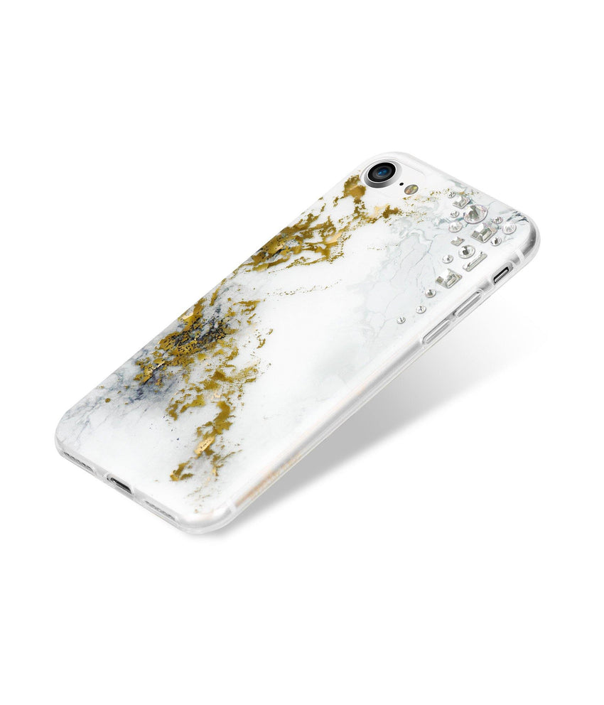 EDGE COLLECTION - ALABASTER - for iPhone 8 case - Bling My Thing