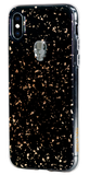 TREASURE ᛫ BLACK GALAXY ᛫ doubled-layered TPU cover with Skull Swarovski Crystals for iPhone XS Max - Bling My Thing