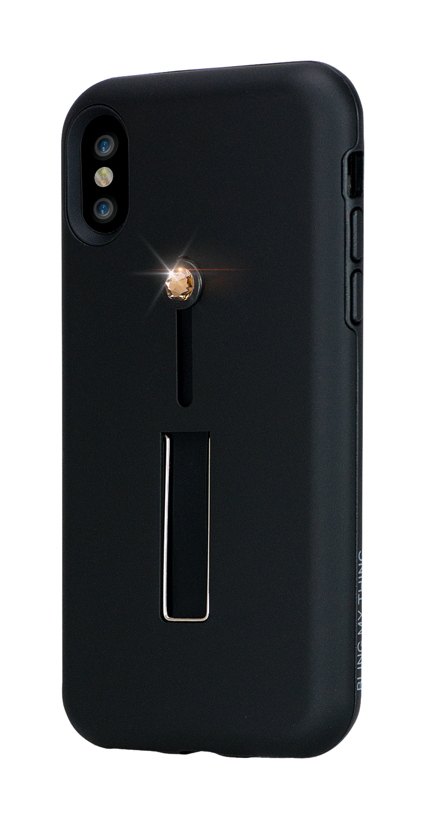 SelfieLOOP* Collection -BLACK Swarovski Edition- for iPhone X & XS - Bling My Thing