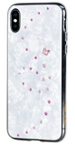 PAPILLON ᛫ PEARL WHITE ᛫ for iPhone XS Max - Bling My Thing