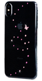 For iPhone XS Max: PAPILLON ᛫ CLEAR ᛫ clip-on hard cover with Swarovski Crystals - Bling My Thing - Swarovski Protective iPhone Case