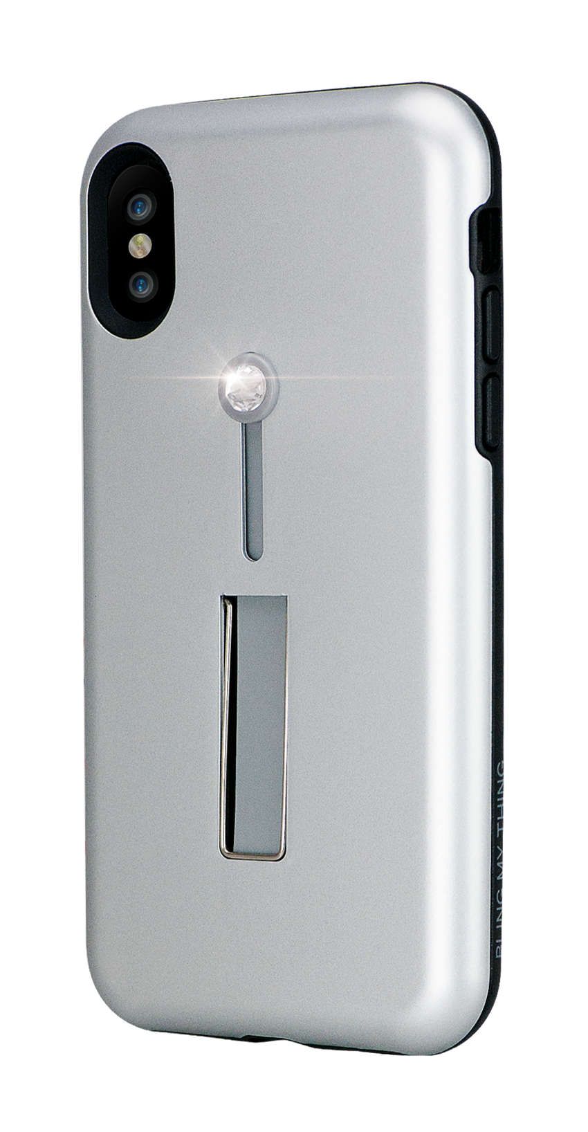SelfieLOOP* Collection -SILVER Swarovski Edition - for iPhone X & XS - Bling My Thing - Swarovski Protective iPhone Case