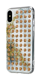 EXTRAVAGANZA ᛫ ALABASTER ᛫ clip-on cover with Swarovski Crystals for iPhone X & XS - Bling My Thing