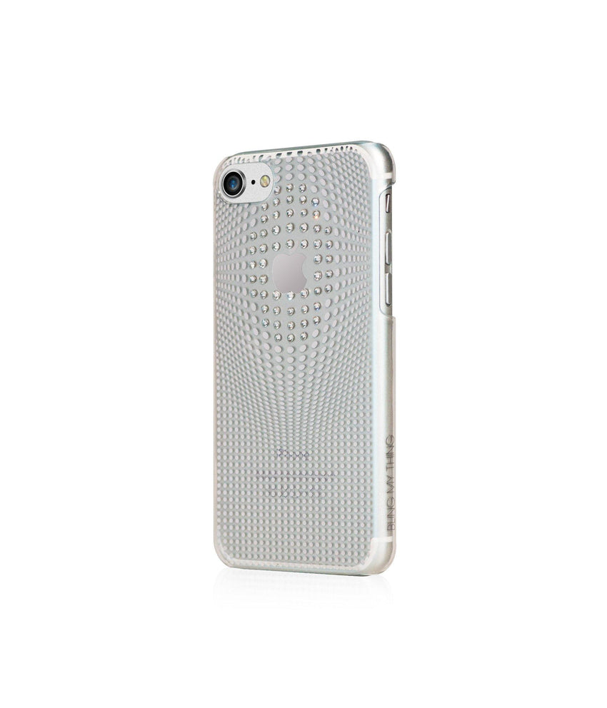 WARP DELUXE COLLECTION - SILVER BRILLIANCE for iPhone 8 case - Bling My Thing