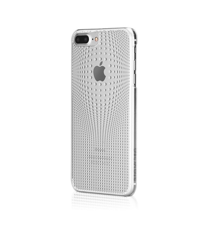 WARP COLLECTION - SILVER for iPhone 7 Plus case - Bling My Thing