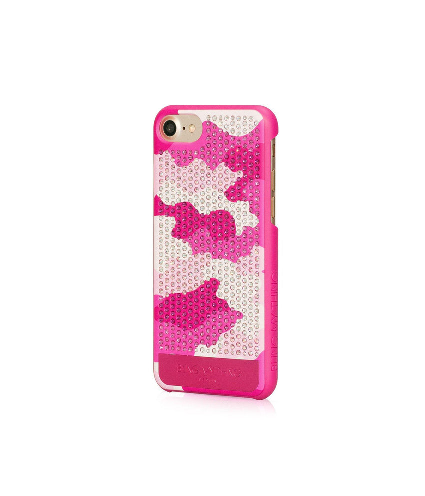 CAMOUFLAGE PINK, ROSE CAMO, VOGUE, IPHONE 7 CASE - Bling My Thing