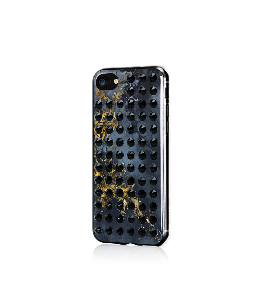 Ultimate Sparkle! OYNX BLACK BRILLIANCE Extravaganza jet case for iPhone 8 - Bling My Thing