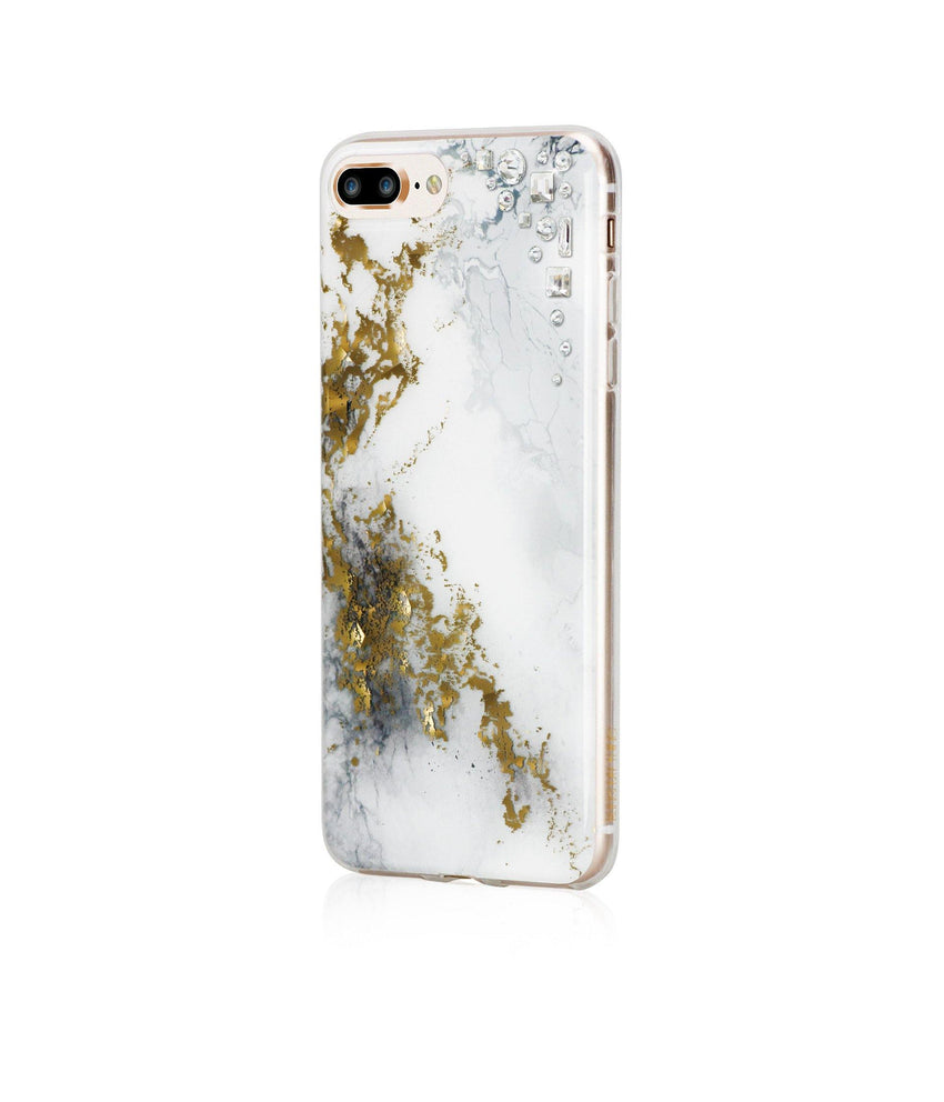 EDGE COLLECTION - ALABASTER - for iPhone 8 Plus case - Bling My Thing