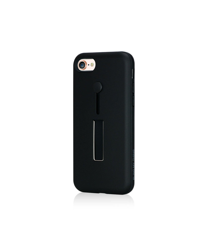 SelfieLOOP Collection - BLACK for iPhone 8 case - Bling My Thing