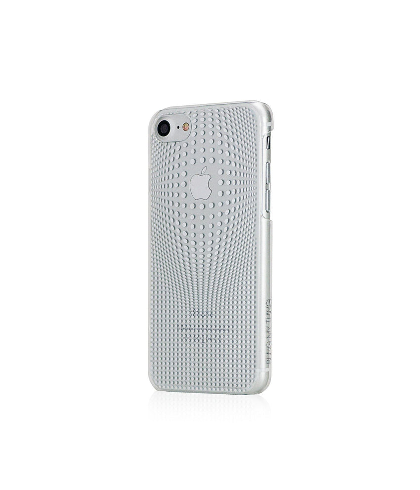 WARP COLLECTION - SILVER for iPhone 8 case - Bling My Thing