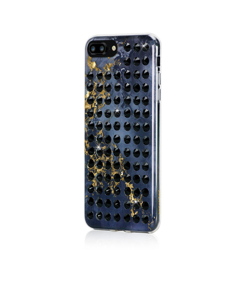Ultimate Sparkle! OYNX BLACK BRILLIANCE Extravaganza jet case for iPhone 8 Plus - Bling My Thing
