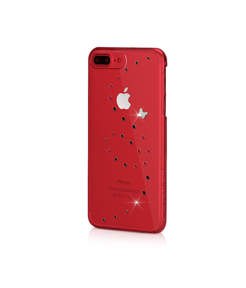 Papillon Magma explosion iPhone 7 Plus Red - Bling My Thing